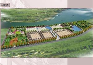 某滨水广场景观设计方案
