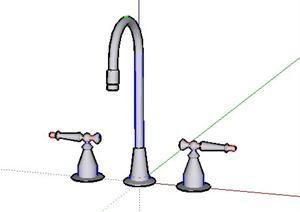 多个厨卫设施设计的SU(草图大师)模型