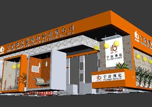 某装饰材料展厅设计方案3DMAX模型