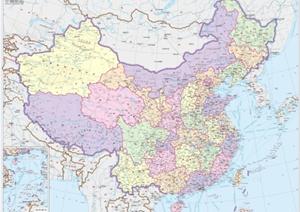 中國全國政區地圖