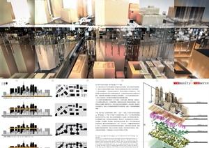 某城市建筑设计国际竞赛获奖作品集