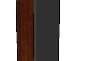 室内电器高音箱音响SU(草图大师)模型