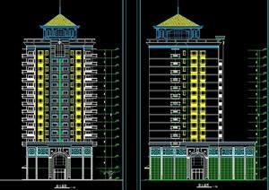 某小高层住宅楼建筑设计方案图1