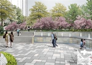 南方某城市住宅景观设计方案文本