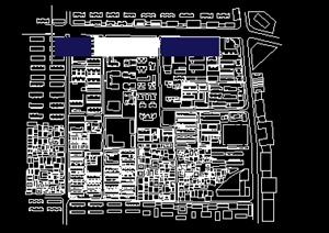 某城市规划城中村改造cad方案