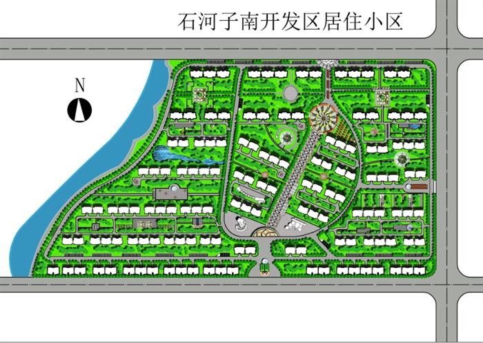 某居住小区规划设计方案文本(1)