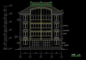 某5层私人住宅别墅建筑设计方案