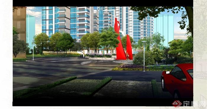 某居住小區規劃設計方案文本(3)