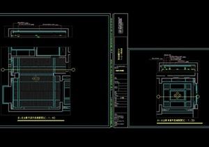 某办公楼的会所装饰设计施工图