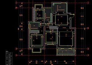 室内装修制图标准规范(CAD格式)