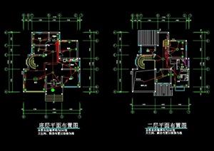 某别墅建筑电气设计方案图1