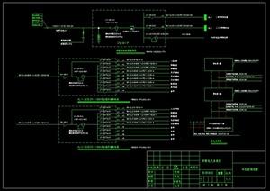 某别墅建筑设计电气系统图