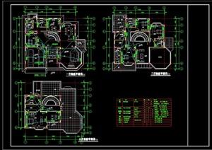 某别墅建筑设计电施图