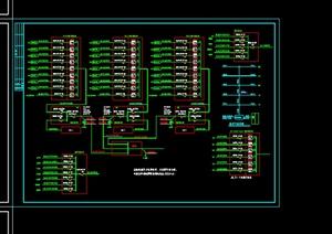 某304#居住楼电施工图设计CAD