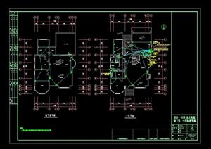 某独立别墅建筑设计电气图