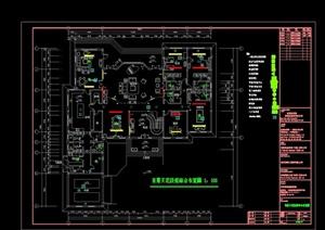 某双层别墅建筑设计电气施工图
