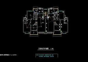 某多层住宅建筑设计电气施工图