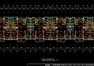 三栋多层住宅建筑设计电气图