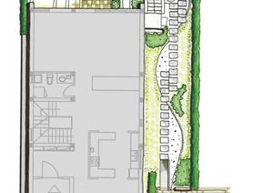 某别墅庭院建筑设计方案图纸