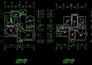 某住宅建筑设计电气图2