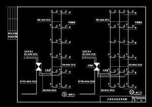 某住宅建筑设计电气安装图