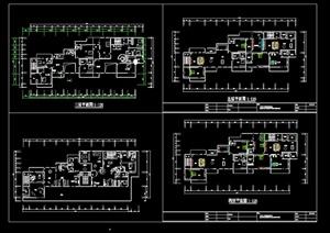 某私人住宅建筑设计电气平面图
