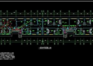 某砖混多层住宅建筑设计电气图