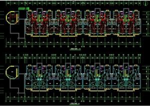 某小区五层住宅建筑设计电气图