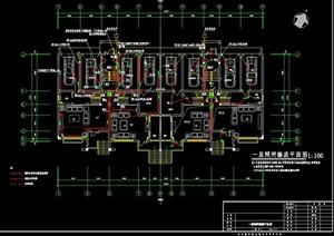 某联体别墅建筑设计电气图