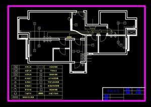 某智能住宅建筑设计电气图