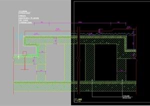 园林驳坎景观设计剖面图2