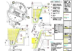 园林驳坎景观设计详细施工图
