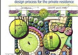 某私人住宅庭院景觀設計書本(外文資料)