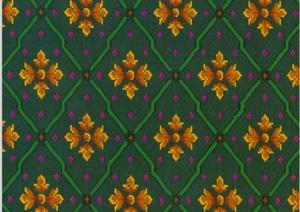 100张3D材质地毯花毯贴图