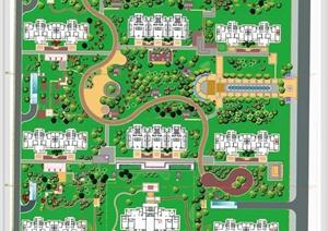 某小区景观设计彩平图