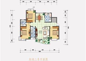 某住宅室内设计PSD方案图