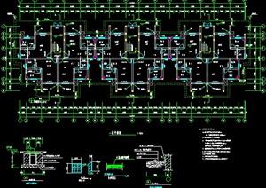 某六层居住建筑设计方案图CAD格式